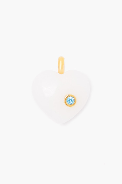 march aquamarine birthstone charm