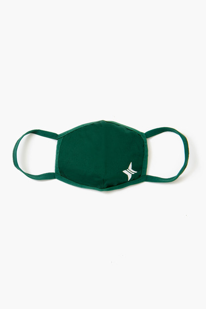 children's hunter green civilian face mask