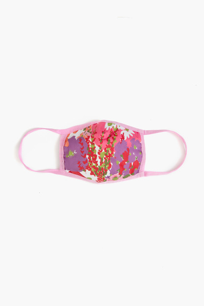 children's blooming floral civilian face mask