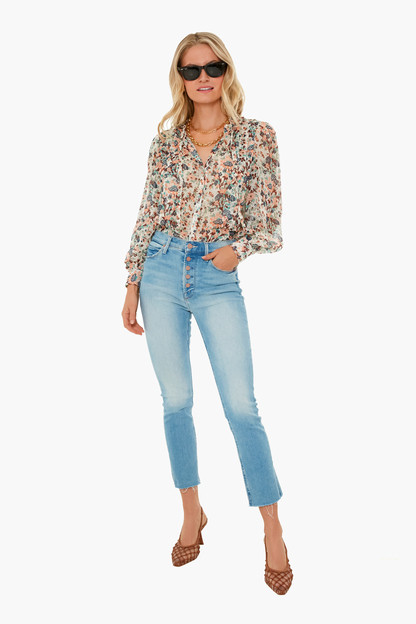 gardenia edith blouse