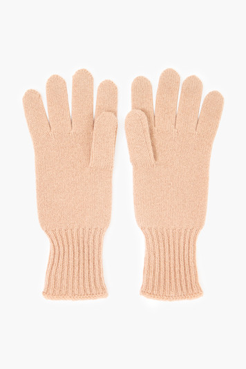 nude cashmere gloves