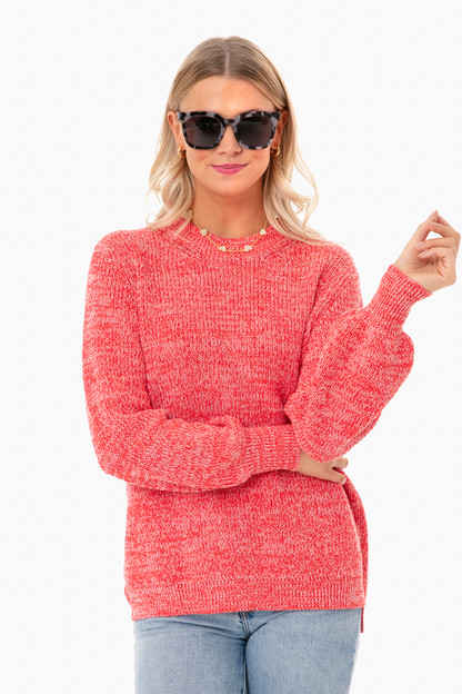 red libby sweater