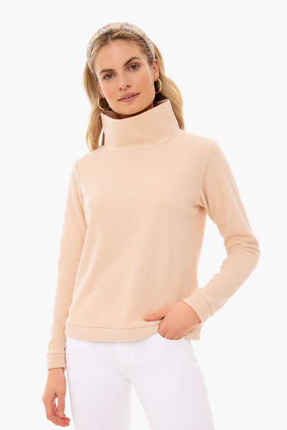 natural blush park slope turtleneck