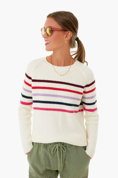 striped delaney pullover