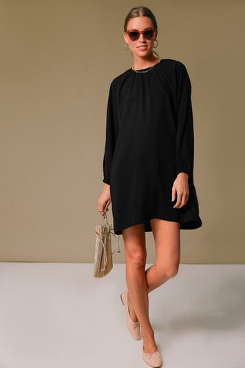 black eliza dress
