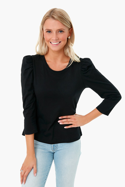 black vesty long sleeve crewneck