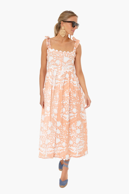 jaipur pink palladio tie shoulder dress