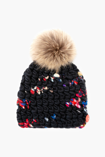 dark twombly beanie pomster