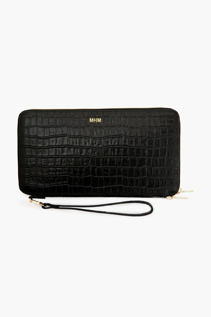Black Croc Travel Wallet Up to 30% off with code BESTFRIEND. Expect shipping delays.