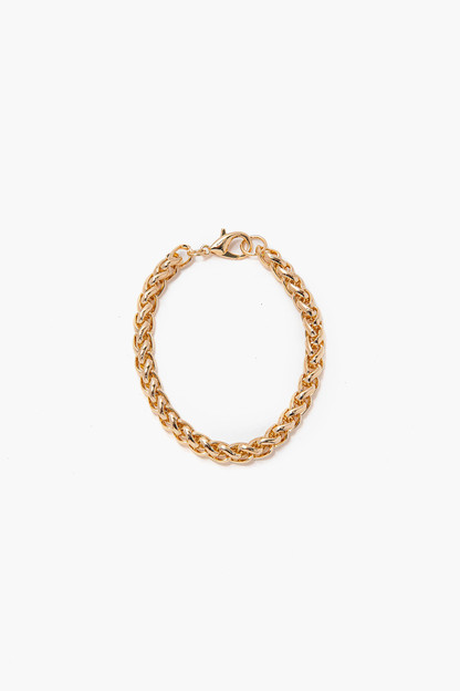 gold bordeaux bracelet