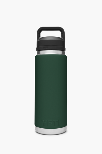 northwoods green rambler 26oz bottle with chug cap