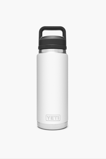 white rambler 26oz bottle with chug cap
