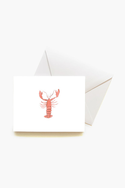 lobster boxed notes set