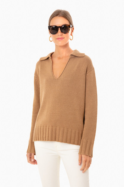 rustic oak georgiana sweater