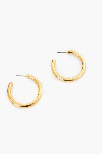Gold Thick Hoop Earrings Take up to 30% off with code BIGSALE.