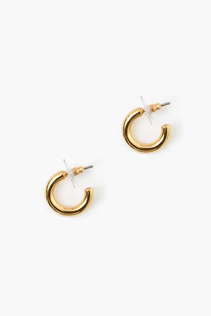 Gold Mini Hoop Earrings
