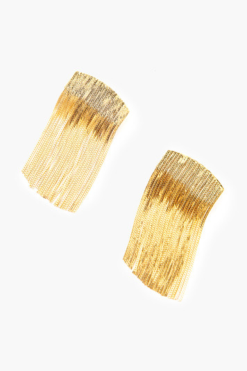 gold roxana earrings