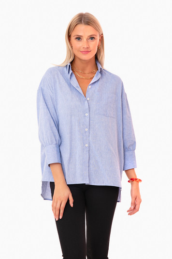 chambray adair boyfriend shirt