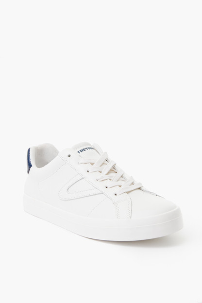 mason leather sneakers