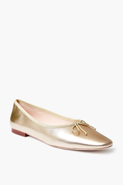 Champagne Georgie Ballet Flat Take up to 30% off with code BIGSALE.