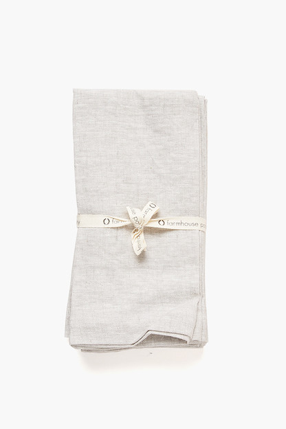 Stone Washed Linen Napkins This item ships directly from the vendor within 5 business days.