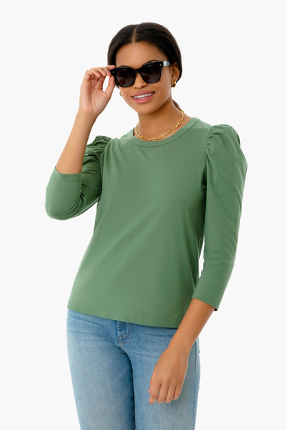 green vesty long sleeve crewneck