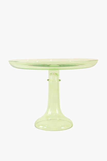 mint green cake stand