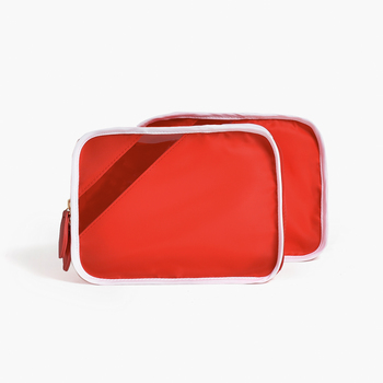 bebop red packing cube quad