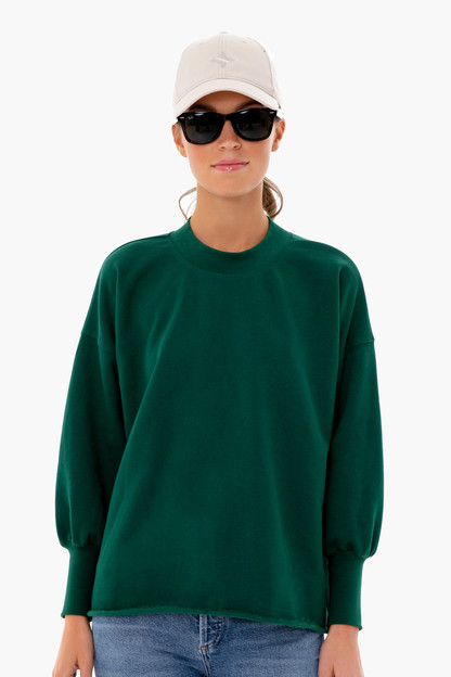 forest green fletcher pullover
