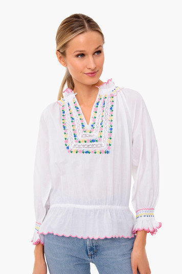beatrice in bloom blouse