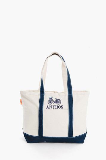 classic bicycle large boat tote