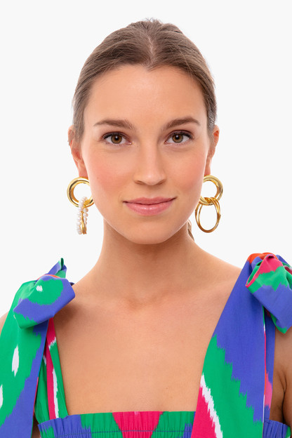 gold fabian earrings