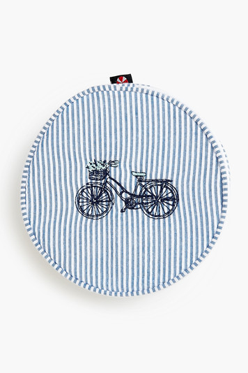 classic bicycle button bag
