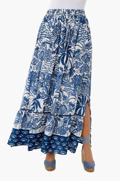 Botanical Maxi Skirt This item is excluded from BIGSALE