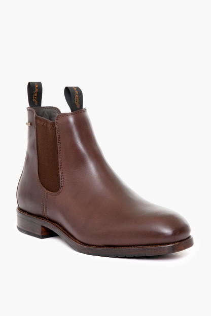 mahogany leather kerry boots