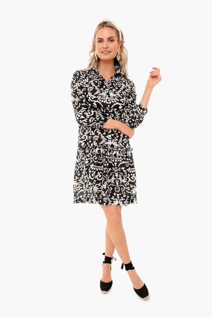 noir phoenix tilly shirt dress