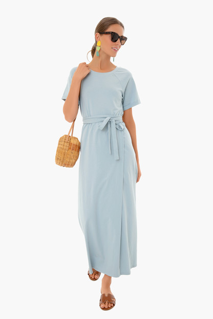 slate blue sawyer dress
