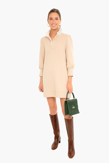 latte charlotte terry dress