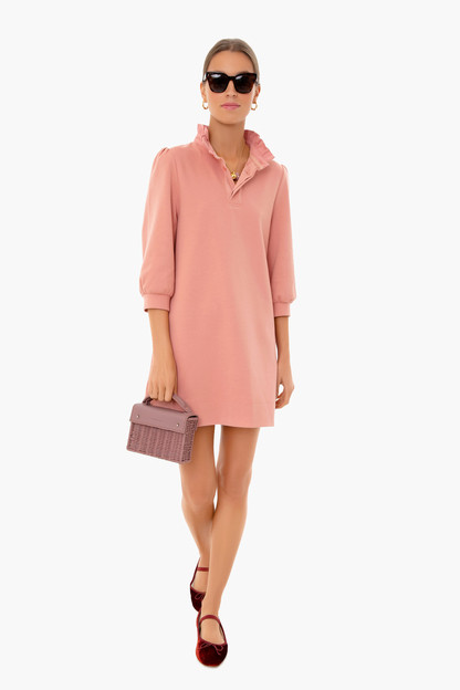 dusty rose charlotte terry dress