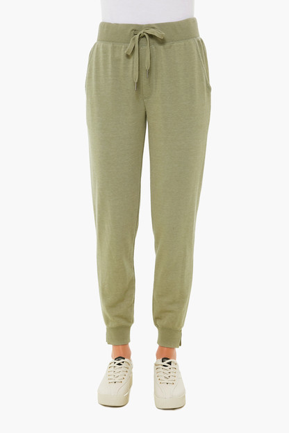 meadow green cypress loop joggers