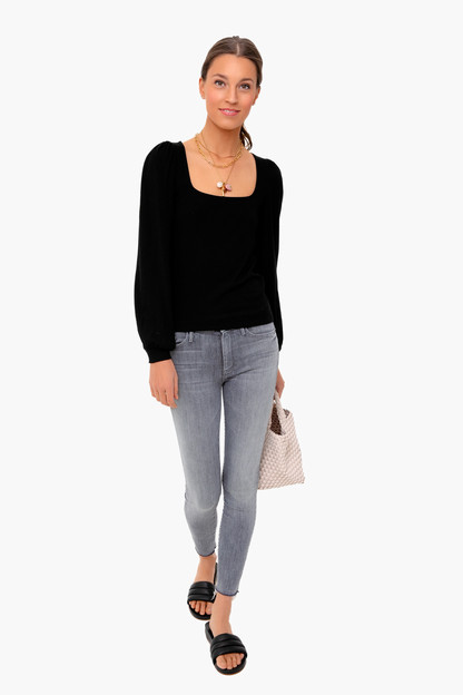 willow rib ls top