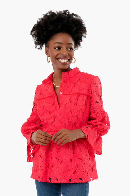 Poppy Red Helena Blouse Take up to 30% off with code BIGSALE.