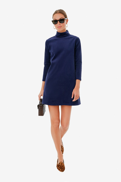 Midnight Stretch Corduroy Mod Ellie Dress Take up to 30% off with code BIGSALE.