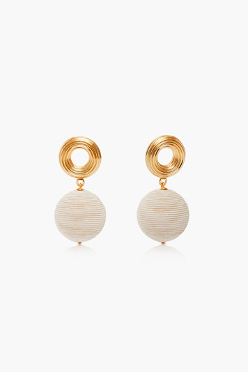 gold anni earrings