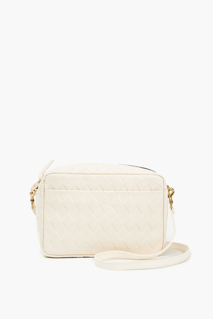 cream diamond marisol bag