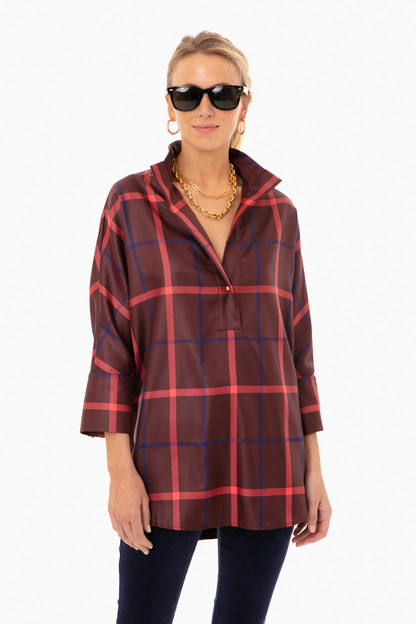 Hickory Plaid Willow Blouse