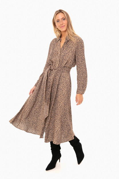 Leopard Aster Dress Take up to 30% off with code BIGSALE.