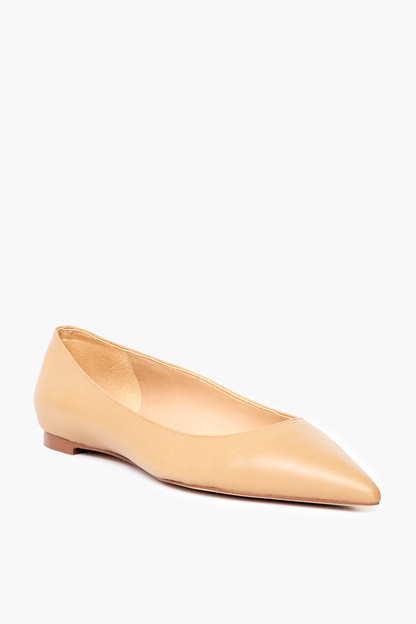 classic nude stacey flats