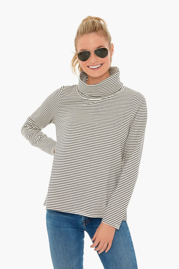 langley funnel neck top