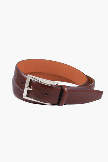 honey maple broderick leather belt